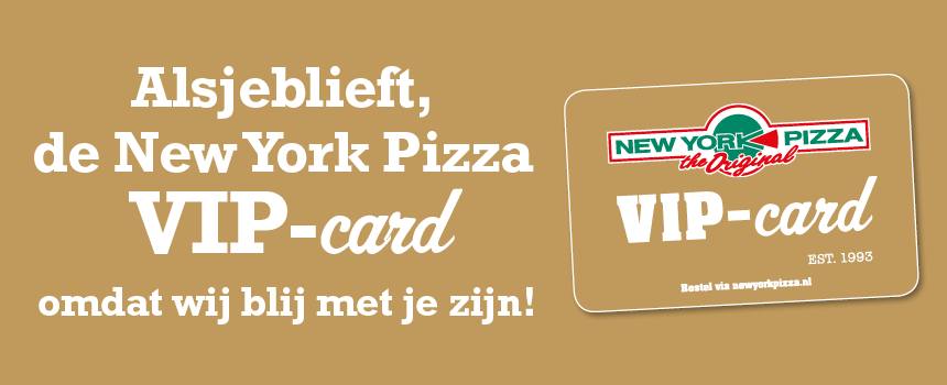 VIPCard New York Pizza